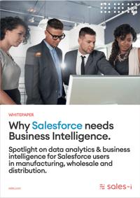 Why Salesforce needs business intelligence