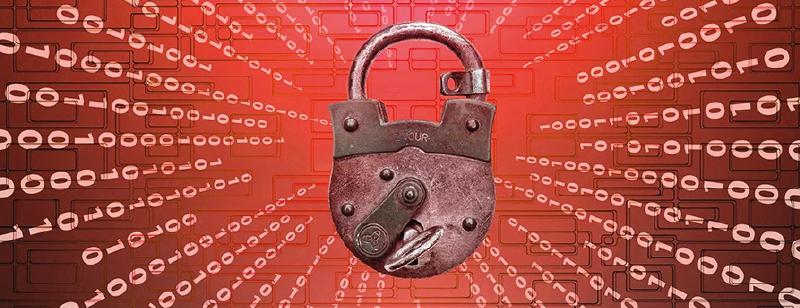 padlocked data