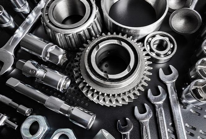 Ken Smith Auto Parts.