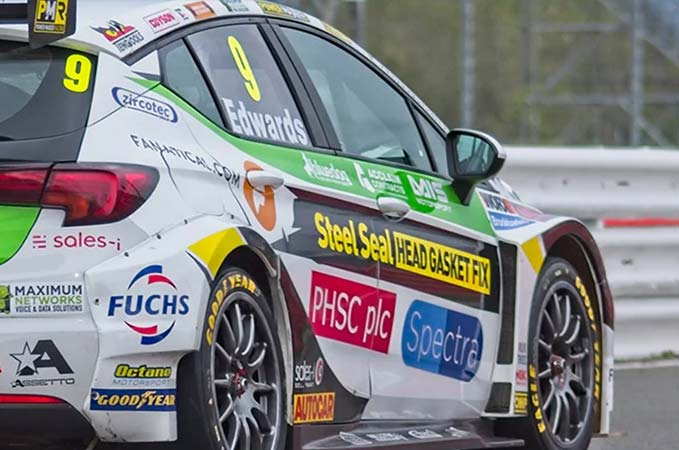A moment of history with first female driver: PMR at BTCC.