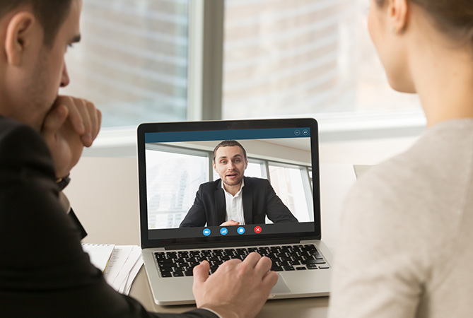 Selling through a screen – 10 video sales call tips.